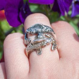 pierścionek rybka