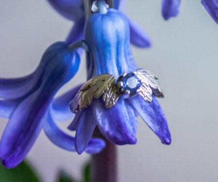 anielski pierścionek